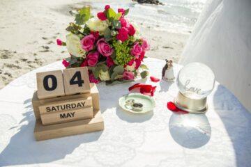 beach weddings on Aeroe island